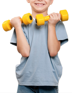 Fitness Mania - For Kids Homepage