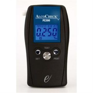 Fitness Mania - AlcoCheck Fuel Cell Hand Held Breathalyser