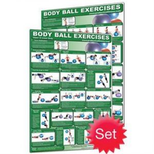 Fitness Mania - Body Ball Poster Set - Laminated (2)