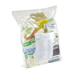 Fitness Mania - Childcare First Aid Kit - Contents Only Refill Pack