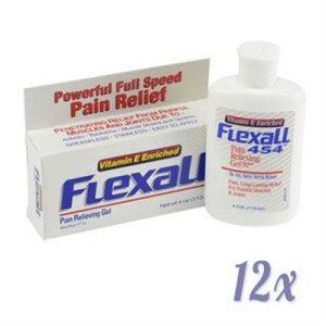 Fitness Mania - Flexall 454 Gel Bottles x 12 - 113g / 4oz