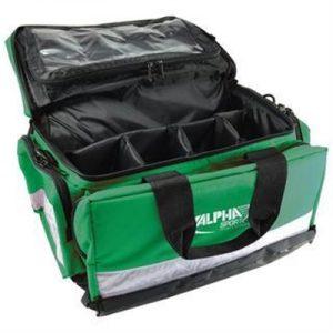 Fitness Mania - Jumbo Paramedic Green Kit Bag with Alpha Sport logo (Empty)