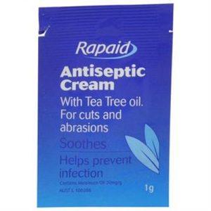 Fitness Mania - Rapaid Antiseptic Cream Sachets 1g (10)
