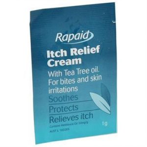 Fitness Mania - Rapaid Itch Relief Cream 1g Single