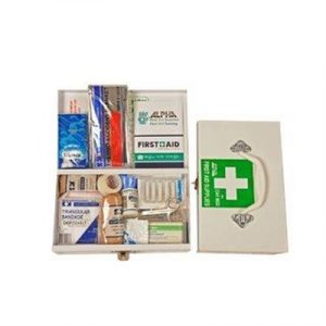 Fitness Mania - Workplace Vehicle First Aid Kit Metal Chest