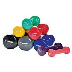 Fitness Mania - York PVC Dumbbells