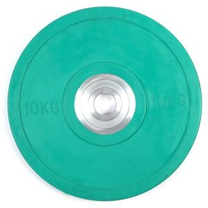 Fitness Mania - 10kg Pro Olympic Rubber Bumper Weight Plate