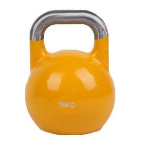 Fitness Mania - 16kg Pro-Grade Steel KettleBell
