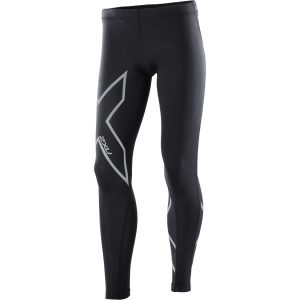 Fitness Mania - 2XU Kids Girls Compression Long Tights - Black/Silver