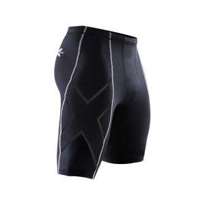 Fitness Mania - 2XU Mens Compression Shorts - Black/Nero