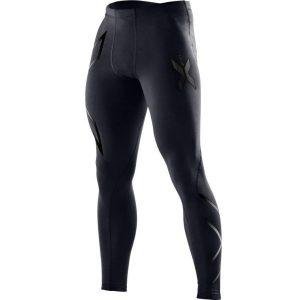 Fitness Mania - 2XU Mens Compression Tights - Black/Nero