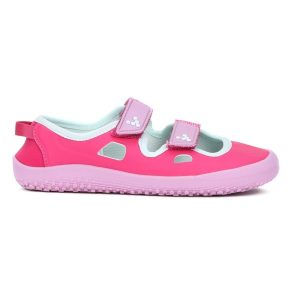 Fitness Mania - Vivobarefoot Bay Kids Girls Casual Sandals - Pink