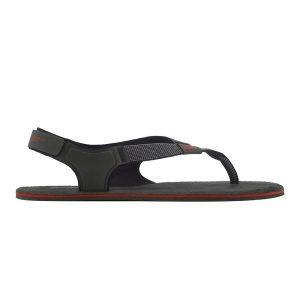 Fitness Mania - Vivobarefoot Ulysses Womens Sandals - Black/Red