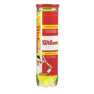 Fitness Mania - Wilson Championship Tennis Balls - Can of 4