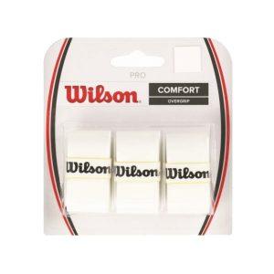 Fitness Mania - Wilson Tennis Pro Overgrip - 3 Pack - White