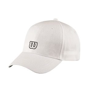 Fitness Mania - Wilson Tour Tennis Cap - White