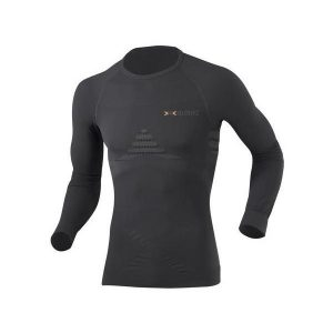 Fitness Mania - X-Bionic Energizer Heat/Cool Mens Long Sleeve Compression Shirt - Black