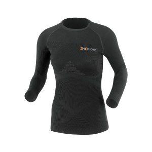 Fitness Mania - X-Bionic Energizer Heat/Cool Womens Long Sleeve Compression Shirt - Black