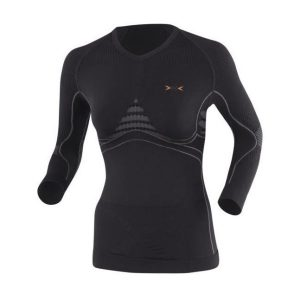 Fitness Mania - X-Bionic Energy Accumulator Heat/Cool Womens Long Sleeve Compression Shirt - Black