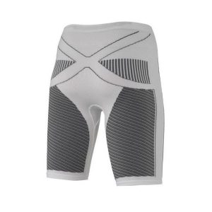 Fitness Mania - X-Bionic Energy Accumulator Hot/Cool Womens Short Compression Tights - White/Black