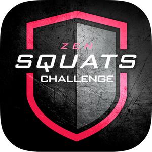 Health & Fitness - 0 to 200 Squats Trainer Challenge - Zen Labs