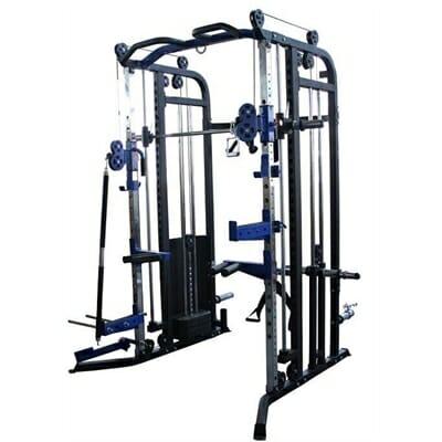 Fitness Mania Brawn Strength Beast V3 Functional Trainer Power Rack Smith Machine Combo