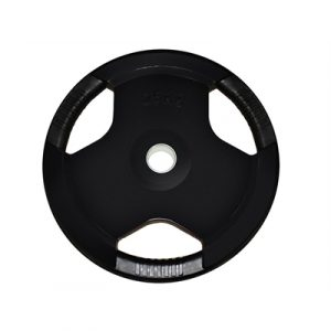 Fitness Mania - Brawn Strength Olympic Plate; Rubber Coated; EZ Grip; 25kg