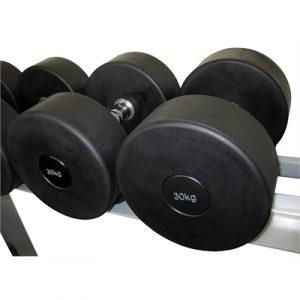 Fitness Mania - Commercial Rubber Dumbbell - 30kg
