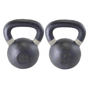 Fitness Mania - Force USA Kettlebell 28kg - Black/Grey