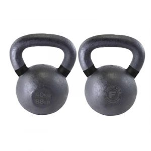 Fitness Mania - Force USA Kettlebell 40kg - Black/Black