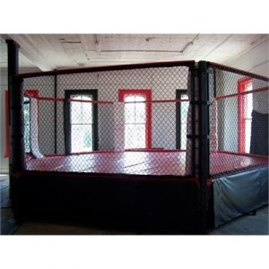 Fitness Mania - MMACAGE-E MMA 5M Fight Cage - Elevated
