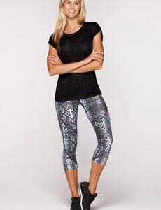 Fitness Mania - Alba T-Shirt Black S