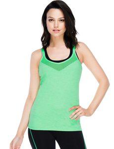 Fitness Mania - Tilda Excel Tank Neon Apple Marl S