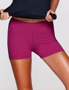 Fitness Mania - Workout Short Tight Boysenberry L