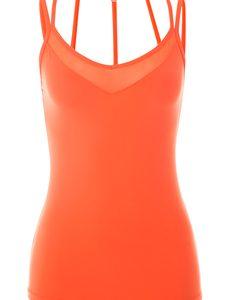 Fitness Mania - Wrap Me Up Excel Tank Orange Crush L