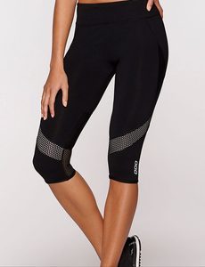 Fitness Mania - Zuma 3/4 Tight Black/Dawn XS