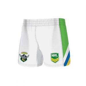 Fitness Mania - Canberra Raiders Kids Home Supporter Shorts 2 Pack