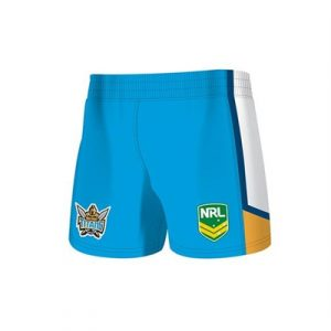Fitness Mania - Gold Coast Titans Kids Away Supporter Short 2 Pack