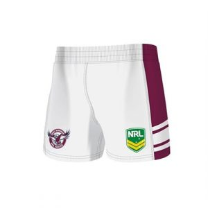 Fitness Mania - Manly Sea Eagles Kids Home Supporter Shorts 2 Pack