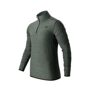 Fitness Mania - New Balance N Transit Qtr Zip Long Sleeve Top Mens