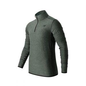 Fitness Mania - New Balance N Transit Qtr Zip Long Sleeve Top Mens