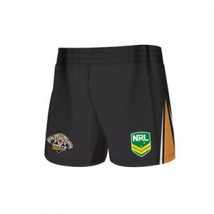 Fitness Mania - Wests Tigers Kids Home Supporter Shorts 2 Pack