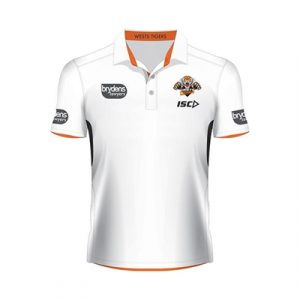 Fitness Mania - Wests Tigers Performance Polo  2016