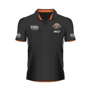 Fitness Mania - Wests Tigers Players Polo  2016