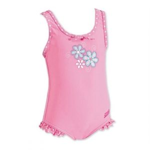 Fitness Mania - Zoggs Sunshine Beach Skirted Scoopback - Toddler Girls