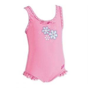 Fitness Mania - Zoggs Sunshine Beach Skirted Scoopback - Toddler Girls