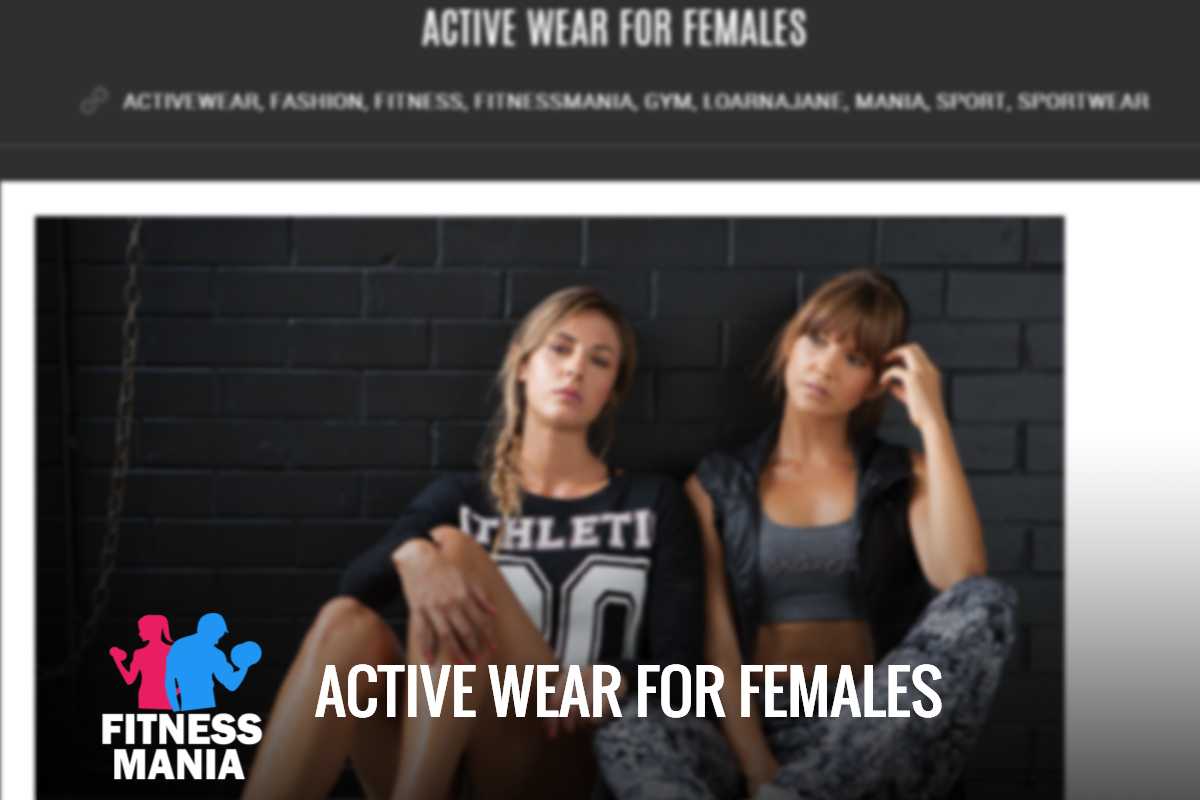 Fitness Mania - Lorna Jane - Active Wear For Women