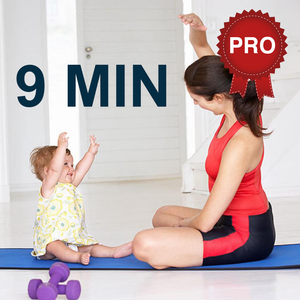 Health & Fitness - 9 Minutes Mom and Baby Workout Challenge PRO - keep fit - Cristina Gheorghisan