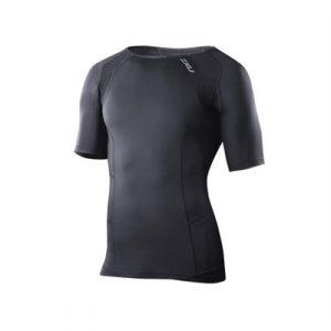 Fitness Mania - 2XU Compression Short Sleeve Top Mens