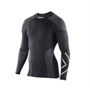 Fitness Mania - 2XU Elite Golf LS Compression Top Mens
